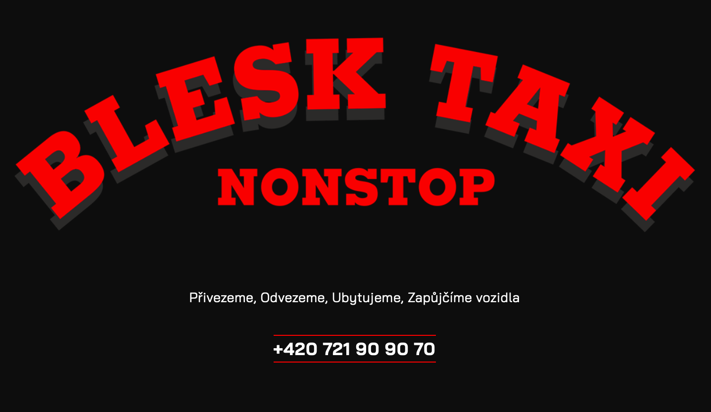 Blesk Taxi